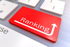 Ranking klawiatury pojęcie Obraz Royalty Free