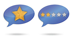 Ranking quality message illustration design Royalty Free Stock Image