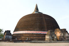 The Rankot Vihara or the Golden Pinnacle Dagoba Stock Photography