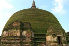 Rankoth Vehera en Polonnaruwa Foto de archivo libre de regalías