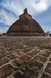 Rankoth Vehera Polonnaruwa,斯里兰卡 免版税图库摄影