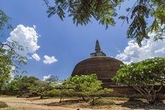 Rankoth Vehera Polonnaruwa, Шри-Ланка стоковая фотография