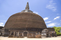 Rankoth Vehera, Polonnaruwa, Sri Lanka Royalty Free Stock Image