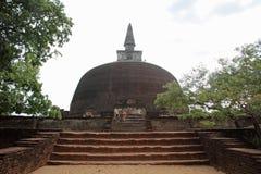Rankoth Vehera in Polonnaruwa Royalty Free Stock Images