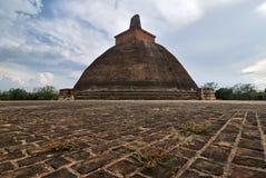 Rankoth Vehera Polonnaruwa, Sri Lanka Fotografia de Stock