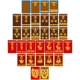 Ranks and insignia of the Nazi Party since 1939 Royalty Free Stock Photo