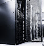 Ranks modern supercomputers in computational data center Stock Images