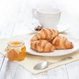 Ranku śniadanie Fotografia Stock