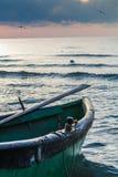Ranku krajobraz przy Czarnym morzem Fotografia Royalty Free