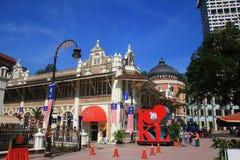 Ranku miasta widok Kuala Lumpur obraz royalty free