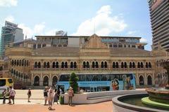 Ranku miasta widok Kuala Lumpur na święcie państwowym obraz royalty free