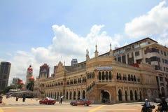 Ranku miasta widok merdeka kwadrat Kuala Lumpur na święcie państwowym obraz stock