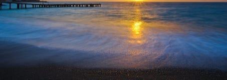 Ranku morze zdjęcie royalty free