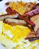 Ranku śniadanie obrazy stock