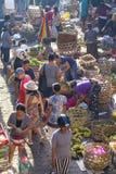 Ranku owoc i warzywo jedzenia rynek w Ubud, wyspa Bali, Indonezja fotografia stock