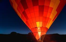 Ranku początek gorące powietrze balon w Cappadocia indyk Zdjęcia Stock