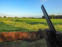 Ranku polowanie w terenie zdjęcia stock