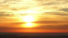 Ranku słońca świtu natura zbiory wideo