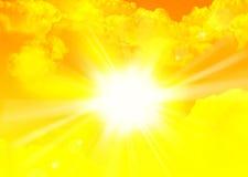 Ranku słońce Obrazy Stock