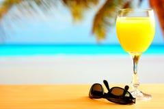 Ranku sok pomarańczowy Zdjęcie Stock