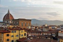 Ranku widok nad Florencja zdjęcia royalty free