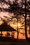 Ranku wschód słońca na górze - Akcyjny wizerunek Zdjęcie Royalty Free