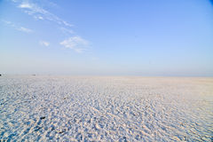 Rann of Kutch terrain Stock Photos