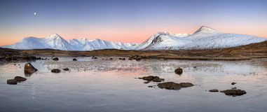 Rannoch attracca, la Scozia fotografie stock