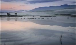 Rannoch hed Skottland arkivbild
