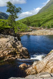 Rannoch hed Skottland royaltyfri foto
