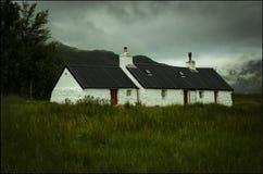 Rannoch hed Skottland arkivfoto