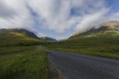 Rannoch hed Skottland arkivbilder