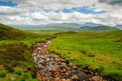 Rannoch hed Skottland Highlans arkivfoto