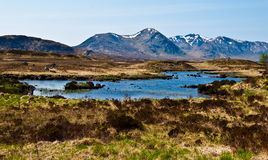 Rannoch Moor Stock Photography