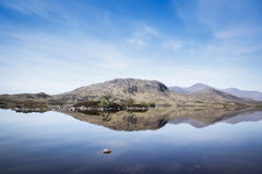 Rannoch moor loch landscape highlands scotland Royalty Free Stock Photos