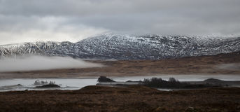 Rannoch Moor in Scotland Stock Images