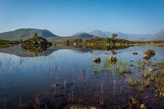 Rannoch moor. In the scottish highlands Stock Photo