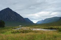 Rannoch Moor at summer time Stock Images