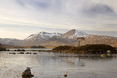 Rannoch Moor in Winter Stock Images