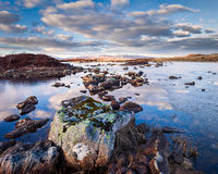 Rannoch moor in winter Royalty Free Stock Photography