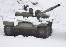 Ranny Rosyjski zbiornik Obrazy Royalty Free