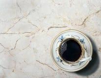 rano świeży kawy fotografia stock