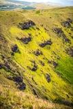 Rano Kau volcano Royalty Free Stock Images