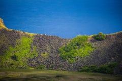 Rano Kau volcano Royalty Free Stock Image