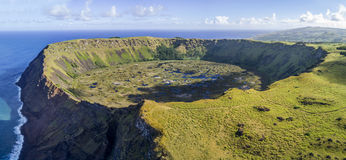 Free Rano Kau Volcano On Easter Island, Chile Stock Photos - 95211723