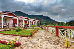 Ranomafana lodges Stock Photo