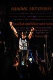 Ranong泰国- 11月22,2013 :Ranong motobike节日1 免版税库存照片