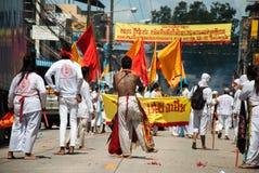 Ranong,泰国- 10月05日- 13日: 免版税库存图片