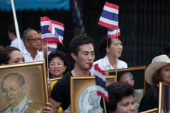 6.2013 ranong-Νοεμβρίου: Οι άνθρωποι είναι σε Ranong (μικρή επαρχία μέσα Στοκ εικόνες με δικαίωμα ελεύθερης χρήσης