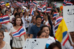 6.2013 ranong-Νοεμβρίου: Οι άνθρωποι είναι σε Ranong (μικρή επαρχία μέσα Στοκ Εικόνες